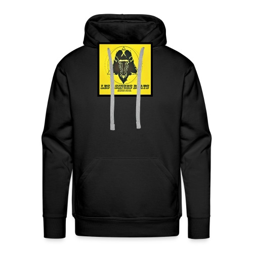 LES 2 SINGES BEATS - Sweat-shirt à capuche Premium pour hommes