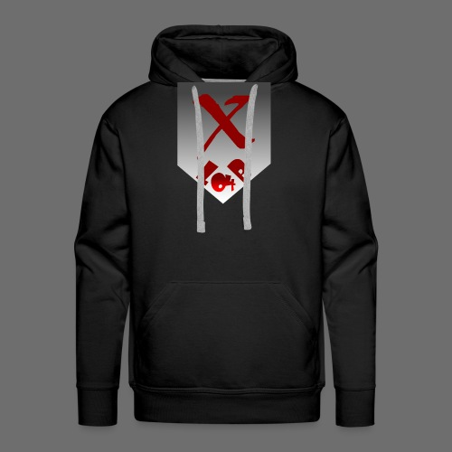 LB 04 Wappen mit verlauf - Männer Premium Hoodie