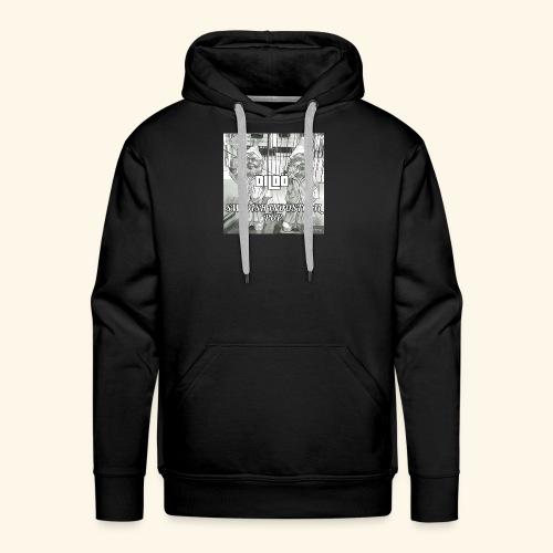 DildöLogo - Sweat-shirt à capuche Premium pour hommes