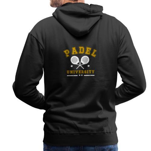 Padel University Vintage - Premiumluvtröja herr