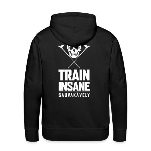 Sauvakävely - Skull t-shirt - Miesten premium-huppari