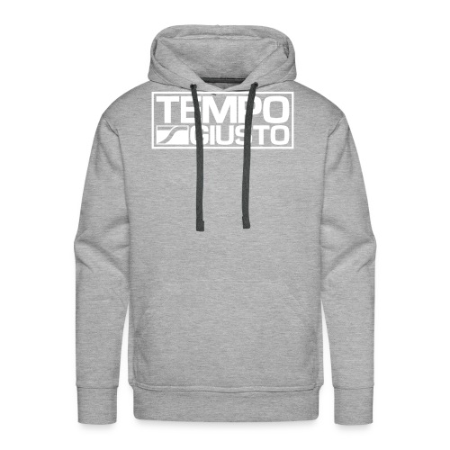 Tempo Giusto Rectangle - Men's Premium Hoodie