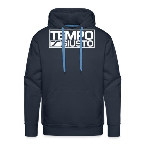 Tempo Giusto Rectangle - Men's Premium Hoodie
