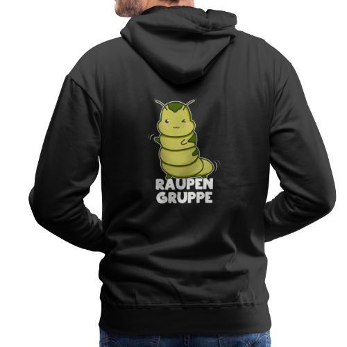 Raupen Gruppe Kindergarten - Männer Premium Hoodie