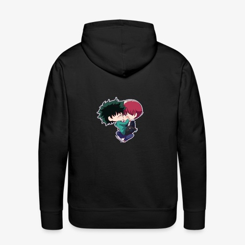 tododeku by dark cruel place - Men's Premium Hoodie