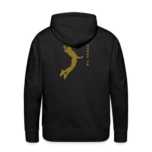 smasheur - Sweat-shirt à capuche Premium pour hommes