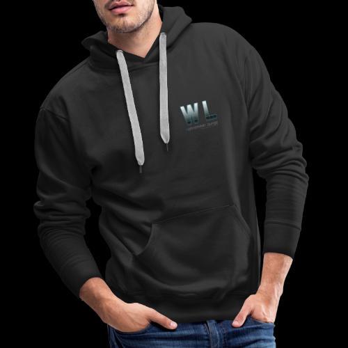 WohnzimmerLounge Logo - Männer Premium Hoodie