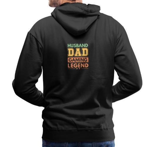 Make, Pappa, Gaming Legend - Stolt Sådan - Premiumluvtröja herr