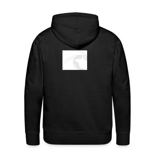 logo blc jpg - Sweat-shirt à capuche Premium pour hommes