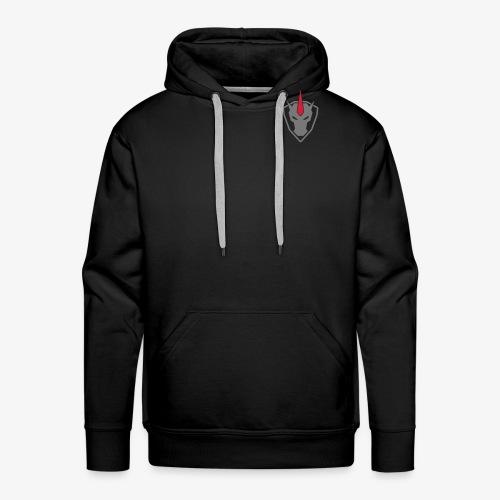 Logo Unicorn grau - Männer Premium Hoodie