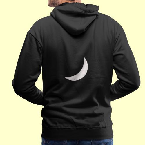 half moon - Sudadera con capucha premium para hombre