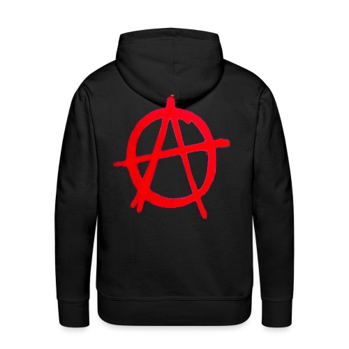 Anarchy Graffiti - Men's Premium Hoodie