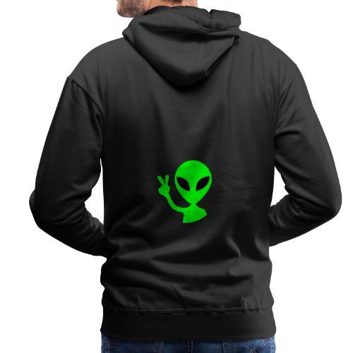 Peace out Alien - Men's Premium Hoodie