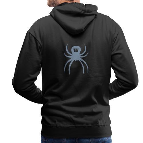 Spider silver - Männer Premium Hoodie