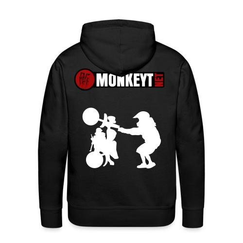 Monkeyt net - Miesten premium-huppari