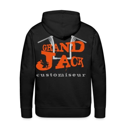grandjack - Sweat-shirt à capuche Premium pour hommes