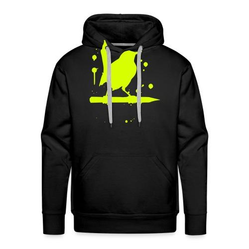 giantLeap vogel druck - Männer Premium Hoodie