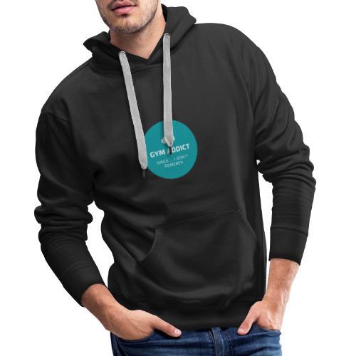 GYM adept - Sweat-shirt à capuche Premium pour hommes