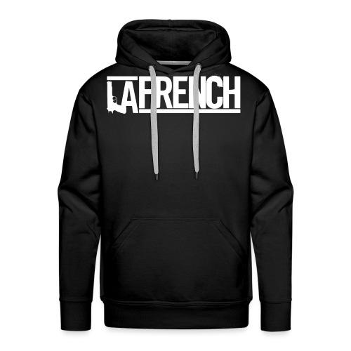 LAFRENCH_LOGO_Blanc - Men's Premium Hoodie