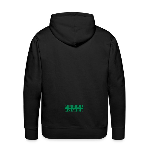 Cycling - Pedal Power - Scalable Vector Design - Men's Premium Hoodie