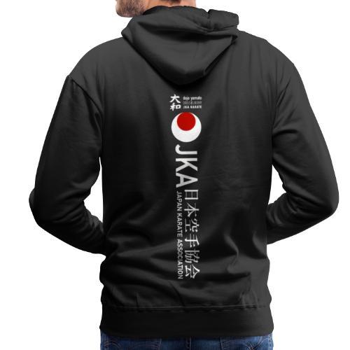 Rücken Schriftzug JKA Big - Männer Premium Hoodie
