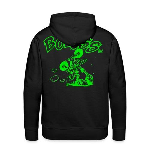 Logo Vert - Sweat-shirt à capuche Premium pour hommes