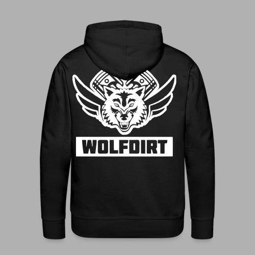 WOLFDIRT - VEKTOR - Männer Premium Hoodie