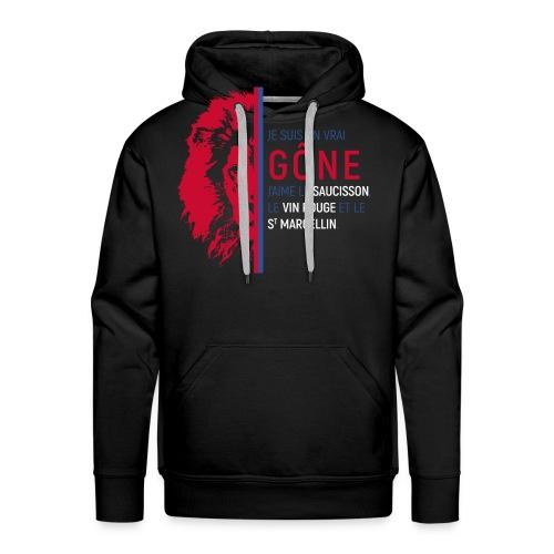Gône - Sweat-shirt à capuche Premium pour hommes