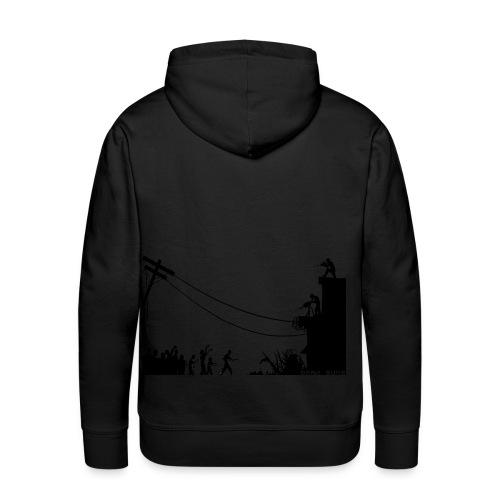 Zombie Attack - by Dark Suns Shop - Sudadera con capucha premium para hombre