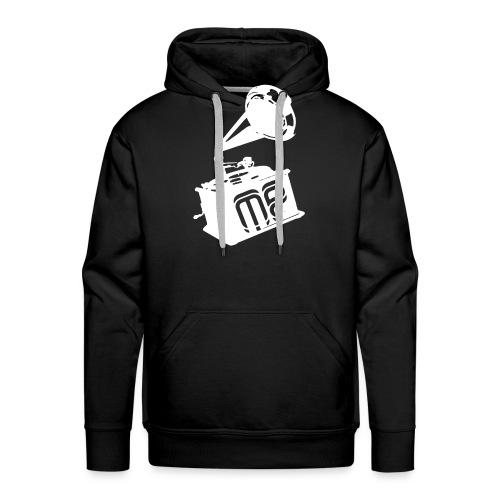 print3white png - Männer Premium Hoodie