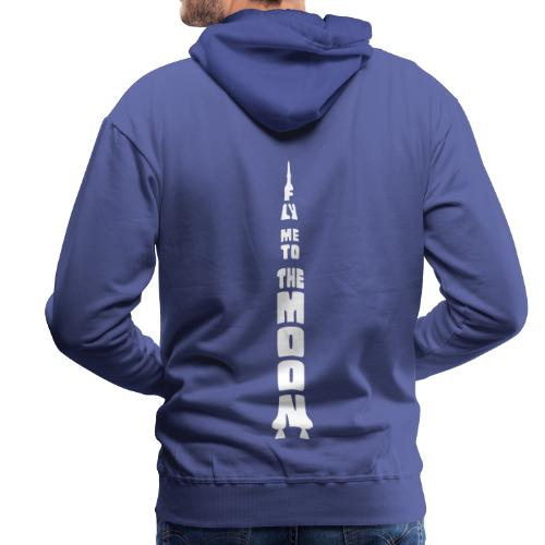 Fly me to the moon - Mannen Premium hoodie