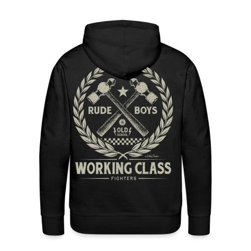 Working Class - Sudadera con capucha premium para hombre