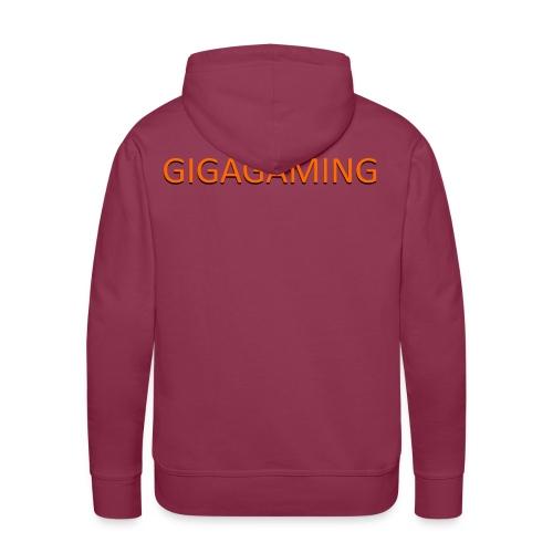 GIGAGAMING - Herre Premium hættetrøje