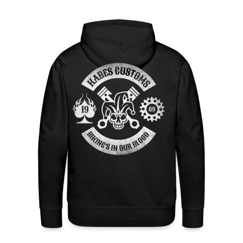 Kabes Custom Motorcycles - Men's Premium Hoodie