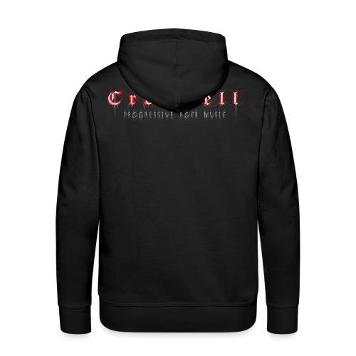 Cromwell RGB LOGO 600dpi black transparent png - Männer Premium Hoodie