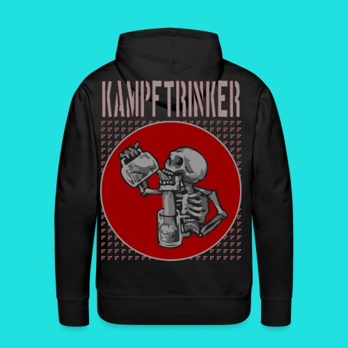 Kampftrinker - Männer Premium Hoodie