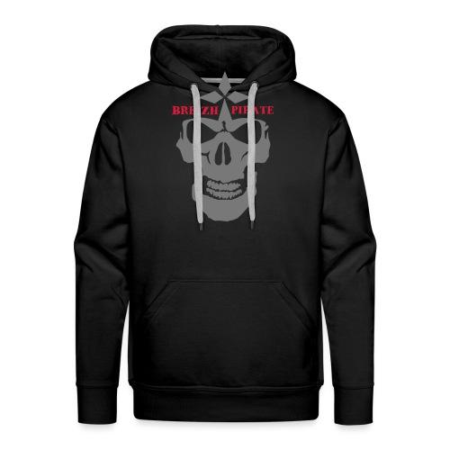 breizhpiratejaws7 - Sweat-shirt à capuche Premium pour hommes