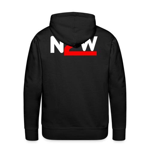Logo Nico2Wheels Simple - Sweat-shirt à capuche Premium pour hommes