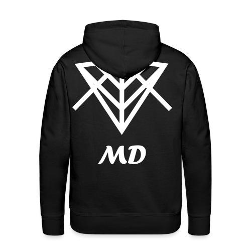 Musical Diversity - Sudadera con capucha premium para hombre
