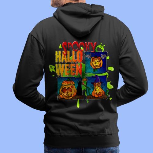 Spooky Halloween - Sweat-shirt à capuche Premium pour hommes