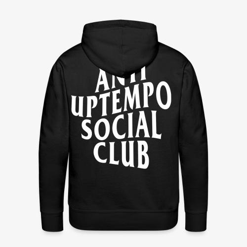 logo anti uptempo social club - Sweat-shirt à capuche Premium pour hommes