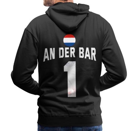 An Der Bar Niederlande Holland Party Sauftrikot - Männer Premium Hoodie