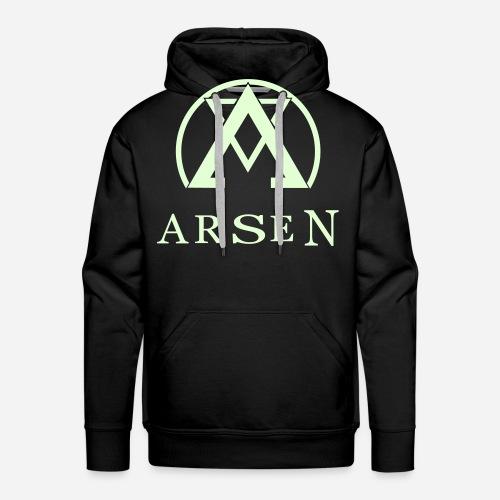 arsen logo finalvector - Männer Premium Hoodie