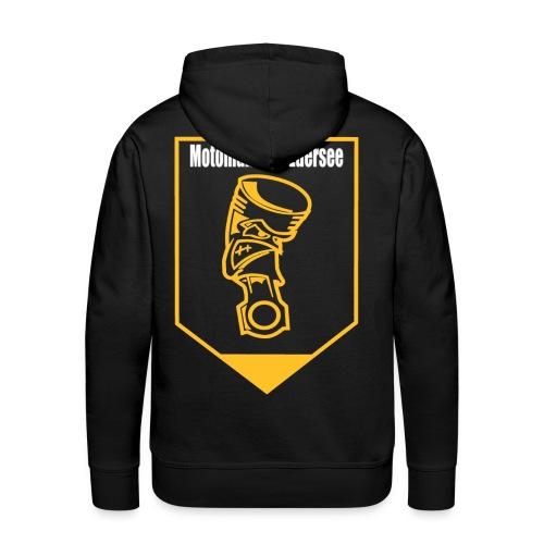 Motomaniac's Gold Design - Männer Premium Hoodie
