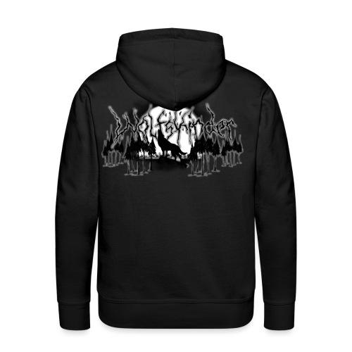 Wolfskinder Logo 2015 Leuchtend Kopie png - Männer Premium Hoodie