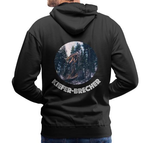KIEFER WEISS - Männer Premium Hoodie