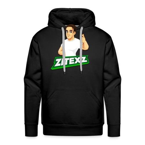 ZitexZ Logo - Herre Premium hættetrøje