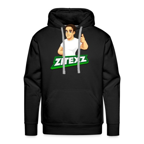 ZitexZ Logo - Men's Premium Hoodie