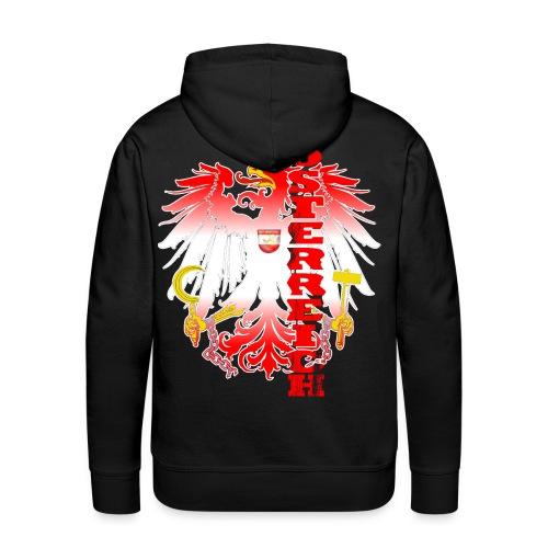 Österreich rot weiss Heimat Stolz - Männer Premium Hoodie