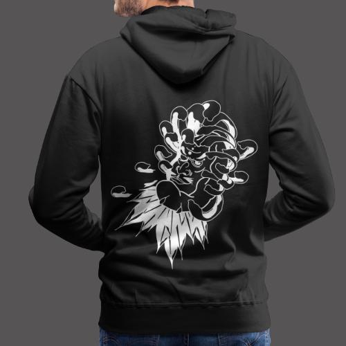 DARUMA & CHRYSANTHEME - Sweat-shirt à capuche Premium pour hommes